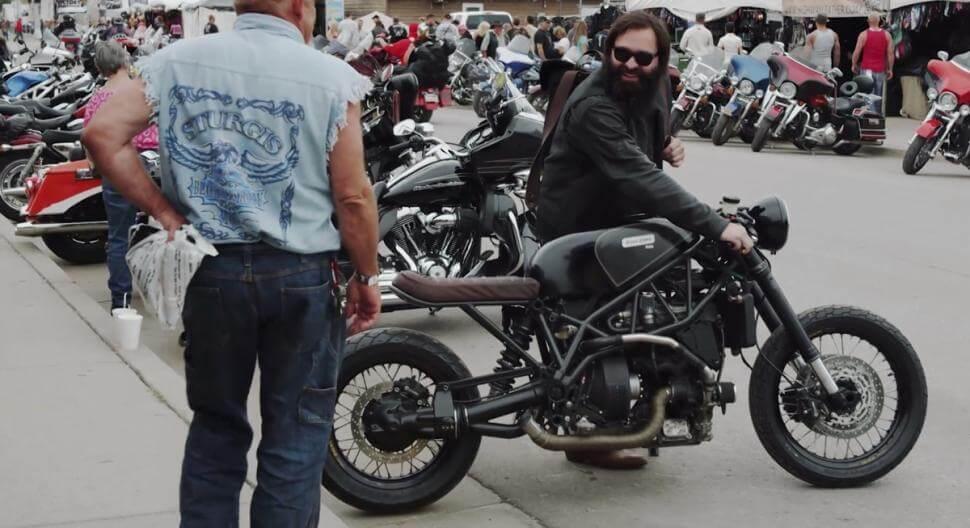 Hormel pork powered motorcycle