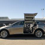 Tesla Model X flywing doors