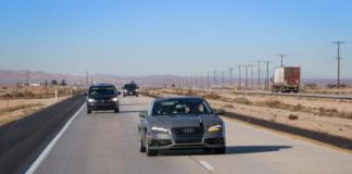 audi a7 self-driving concept car