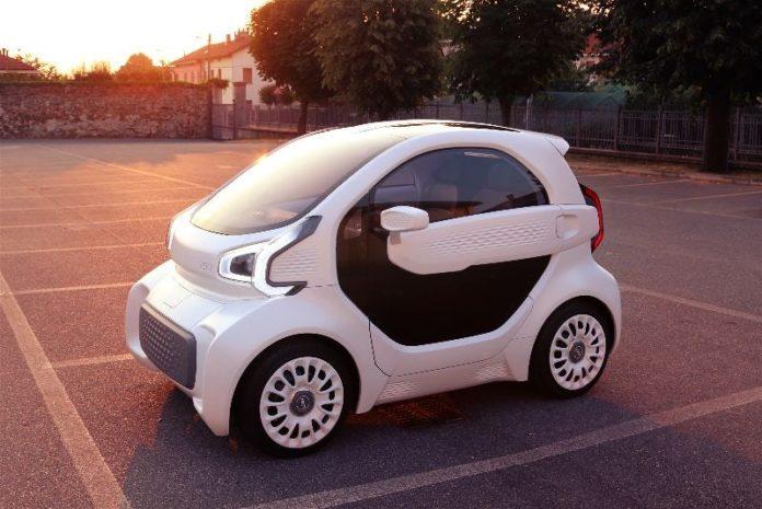 LSEV 3d printed electric car