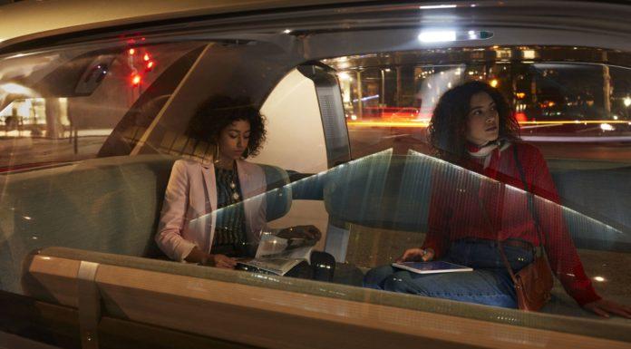 Passengers in Renault EZ-GO